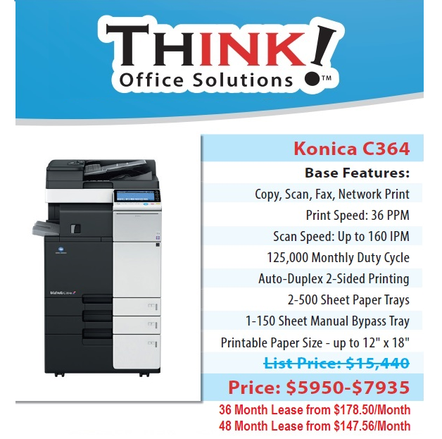 konica minolta bizhub c364 copier denver sales leasing service rh denverthink com konica minolta bizhub c552 instruction manual konica minolta bizhub c552 service manual