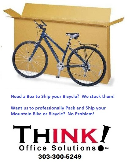 FEDEX MOUNTAIN & ROAD BIKE SHIPPING | THINK! Office Solutions